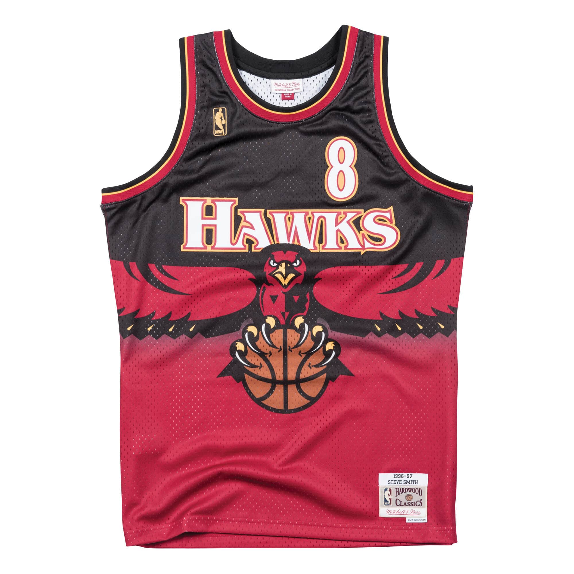 Swingman Jersey Atlanta Hawks Road 1996-97 Steve Smith