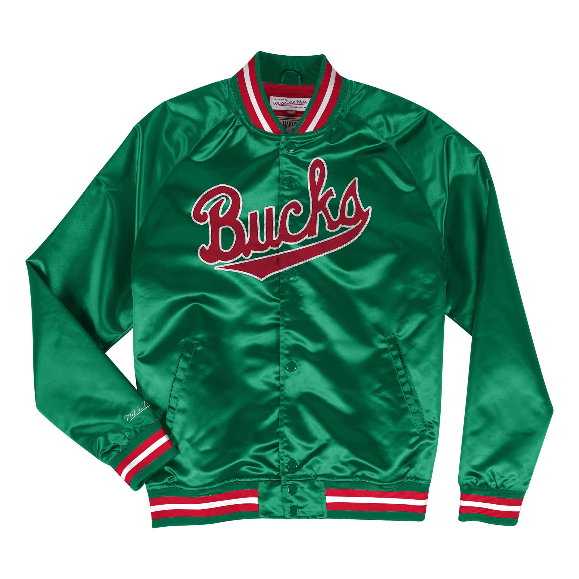 super popular 0b32b 13fba Lightweight Satin Jacket Milwaukee Bucks [#05863101425 ...