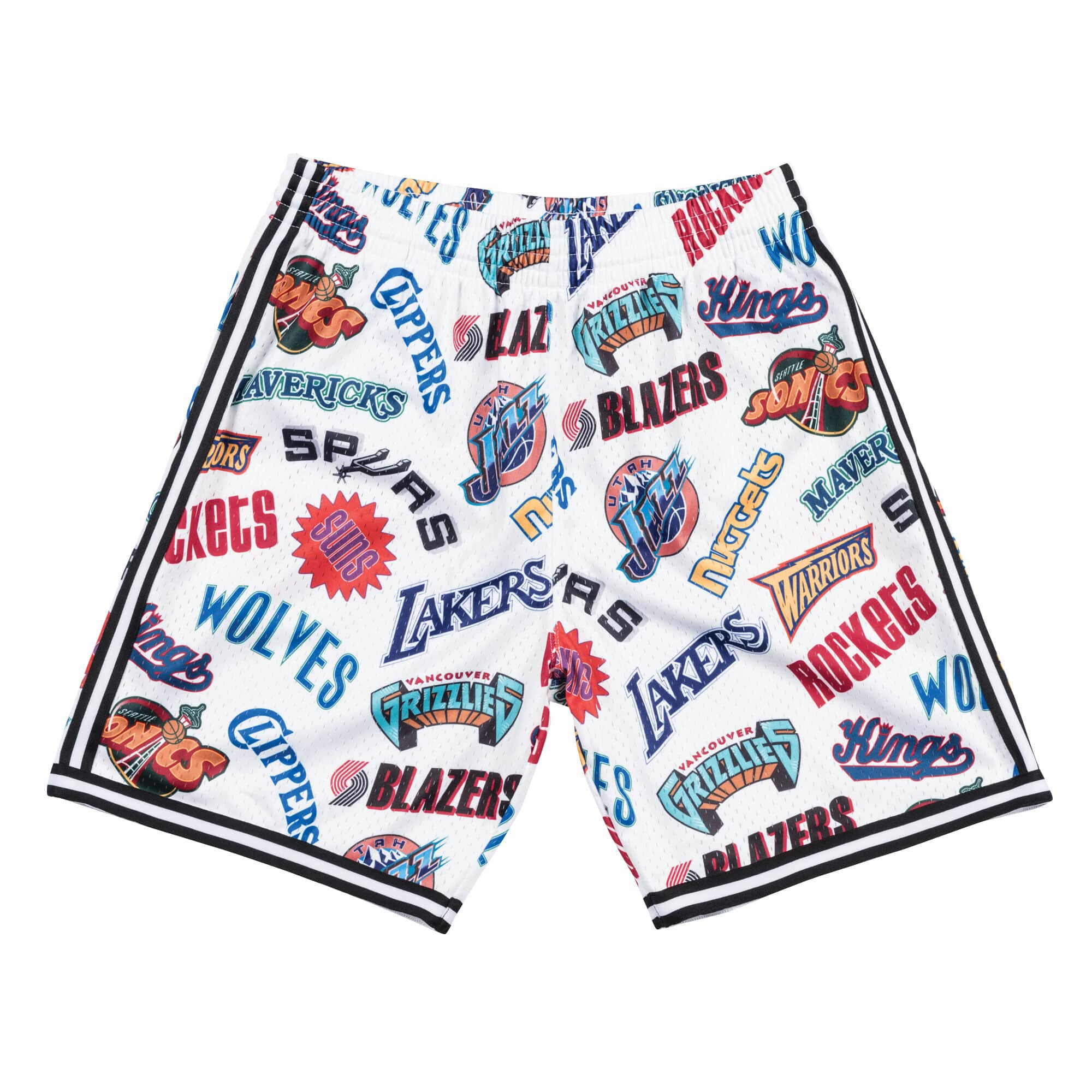 All-Over Western Swingman Short