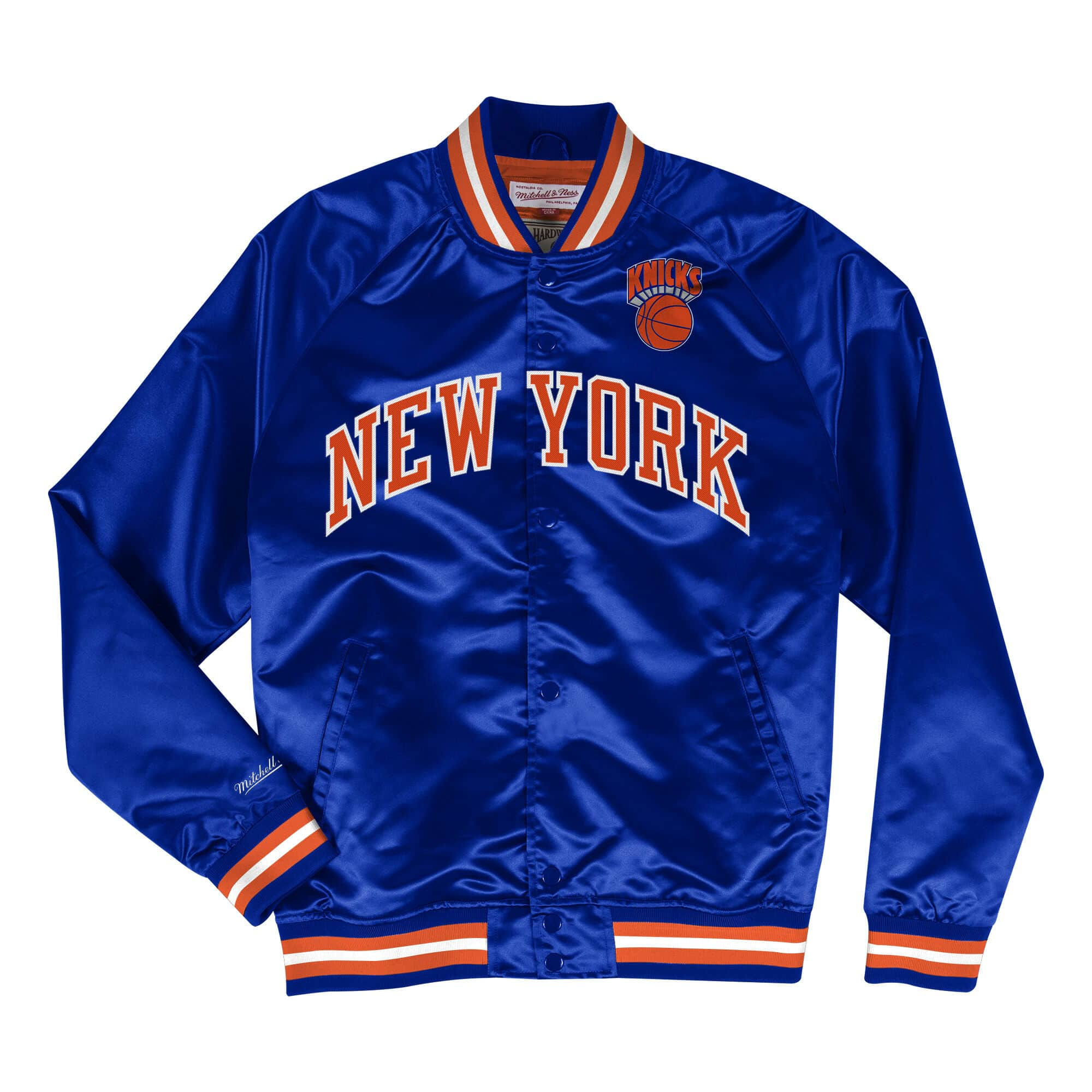 Lightweight Satin Jacket New York Knicks