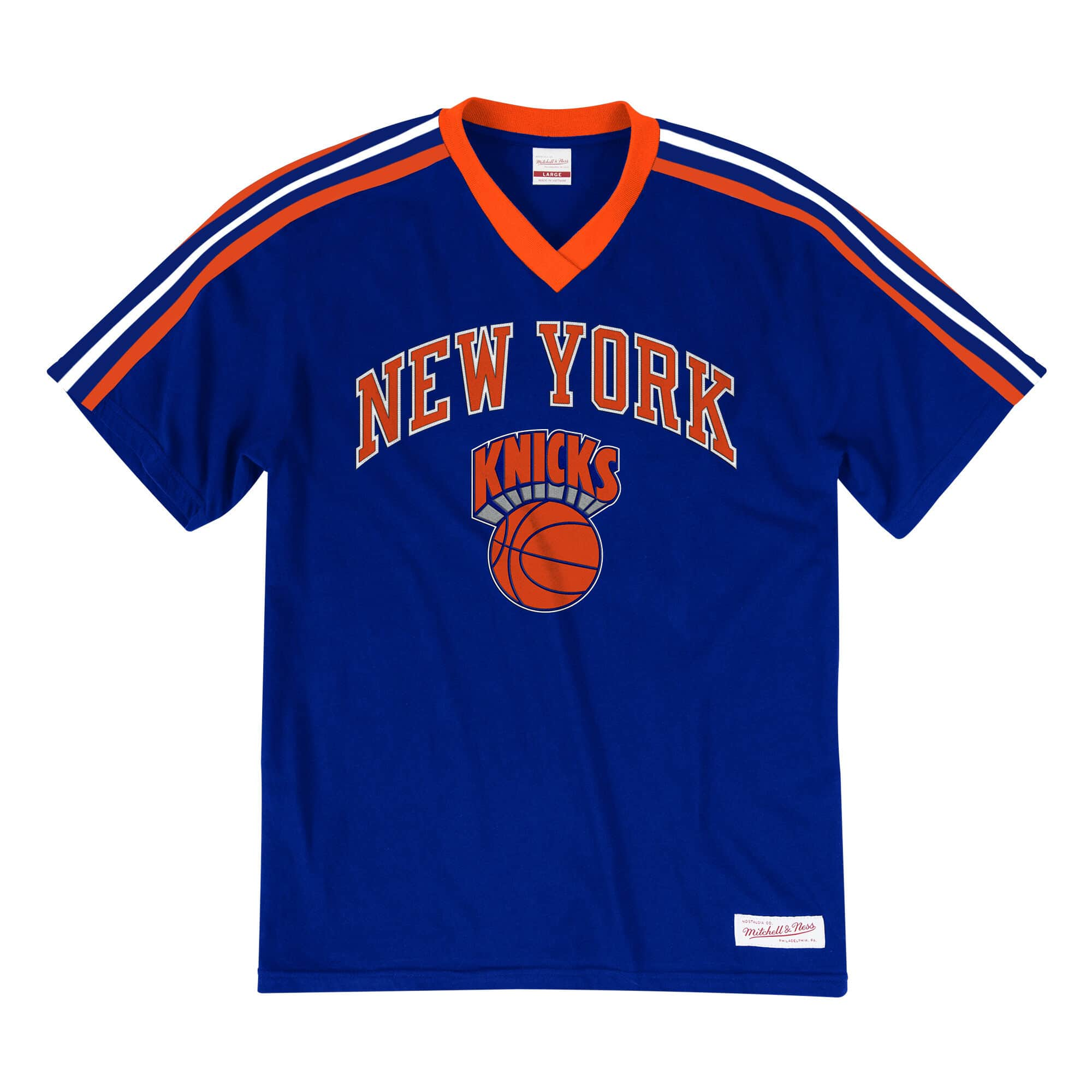 Overtime Win V-Neck Tee New York Knicks
