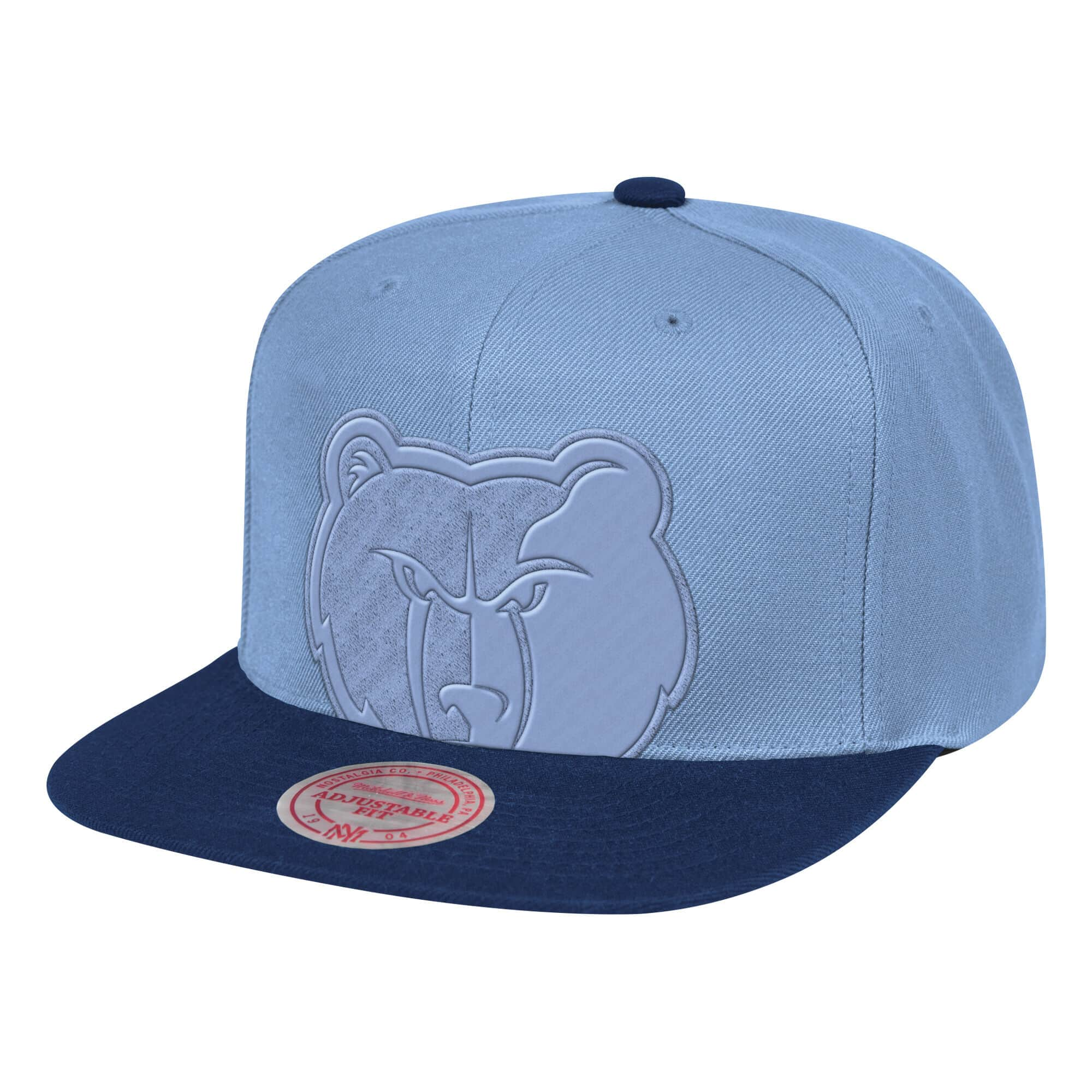Cropped Satin Snapback Memphis Grizzlies