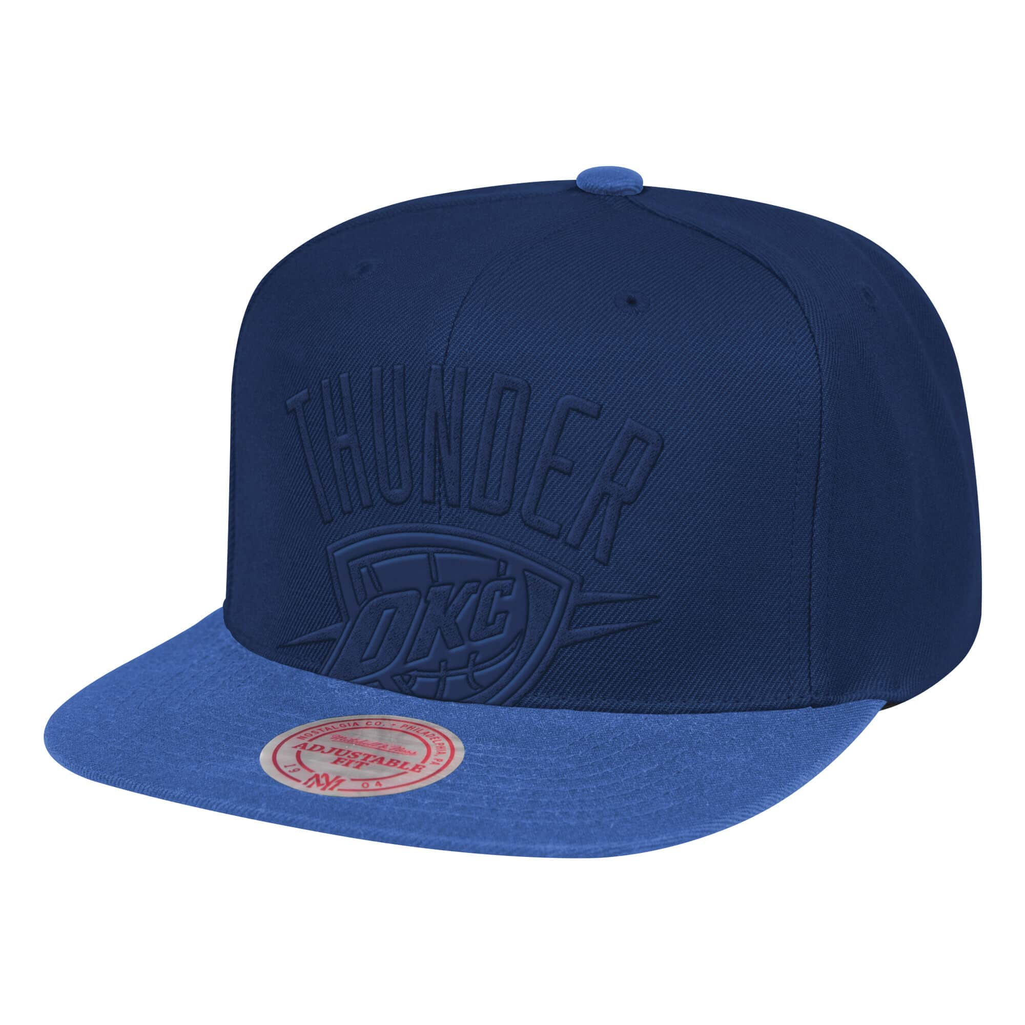 Cropped Satin Snapback Oklahoma City Thunder