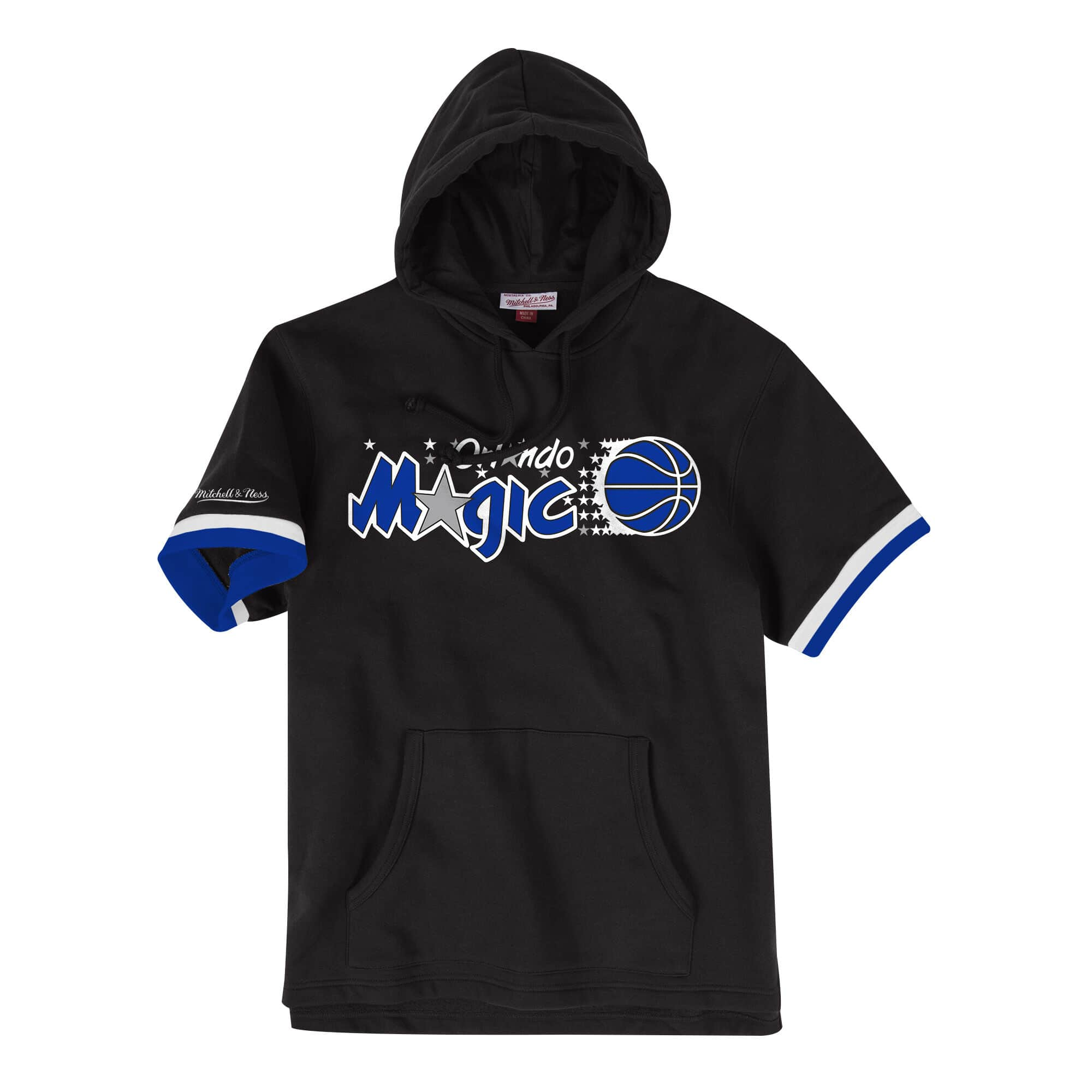 French Terry Short Sleeve Hoody Orlando Magic