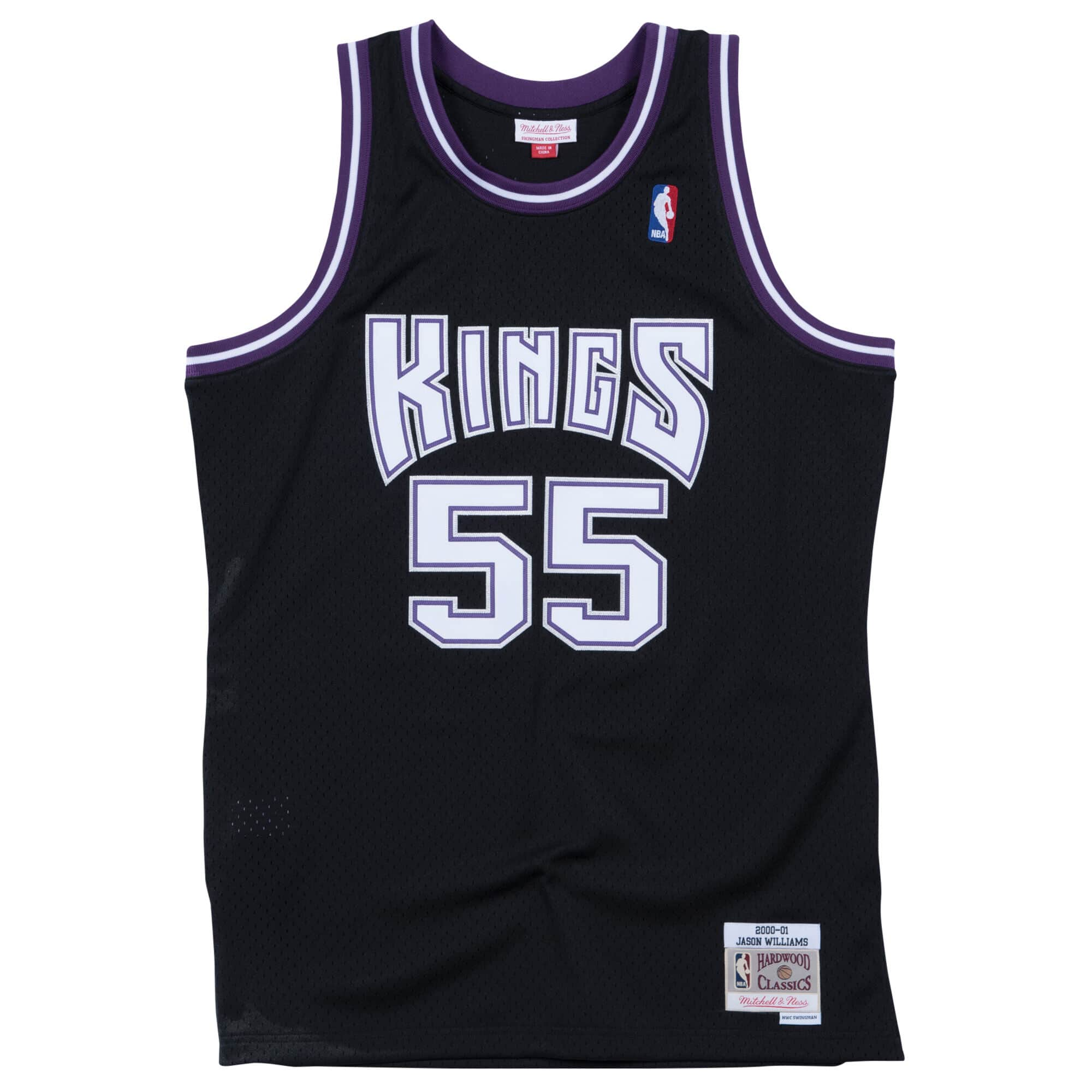 Swingman Jersey Sacramento Kings Road 2000-01 Jason Williams