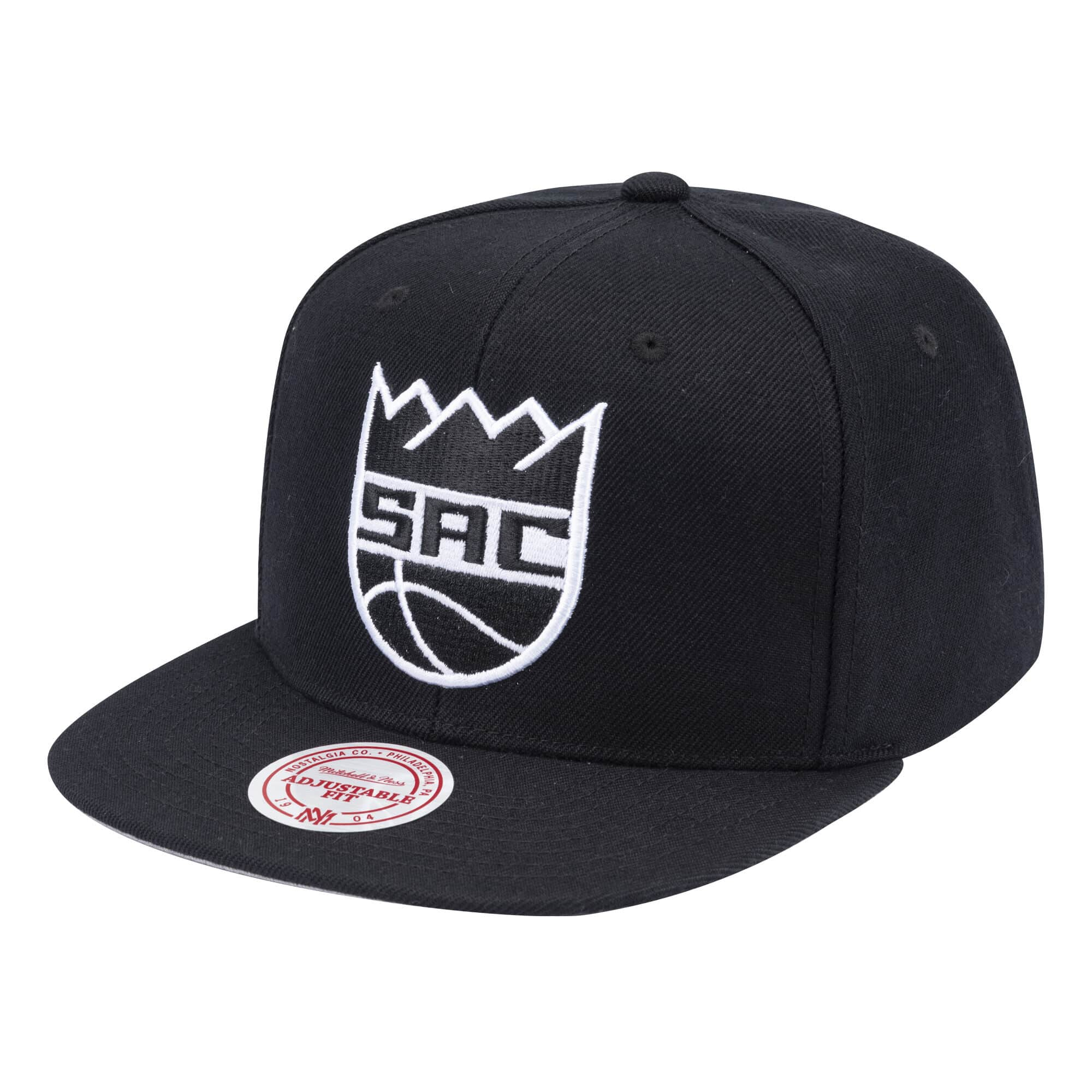 Wool B/W Snapback Sacramento Kings