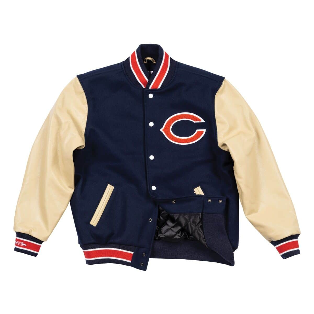 Authentic Wool Varsity Jacket Chicago Bears