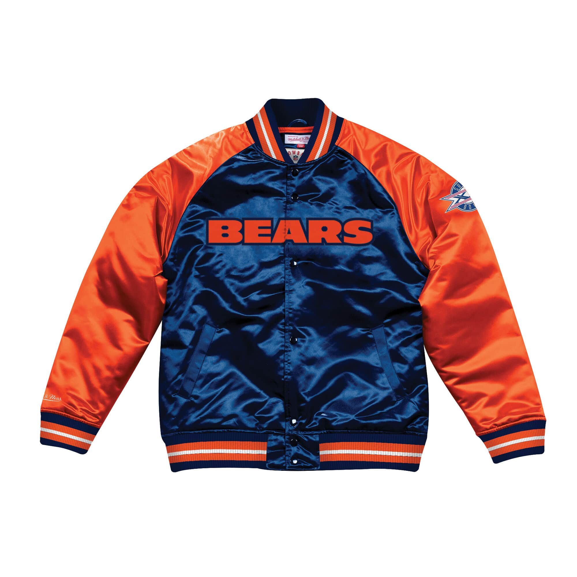 Tough Season Satin Jacket Chicago Bears