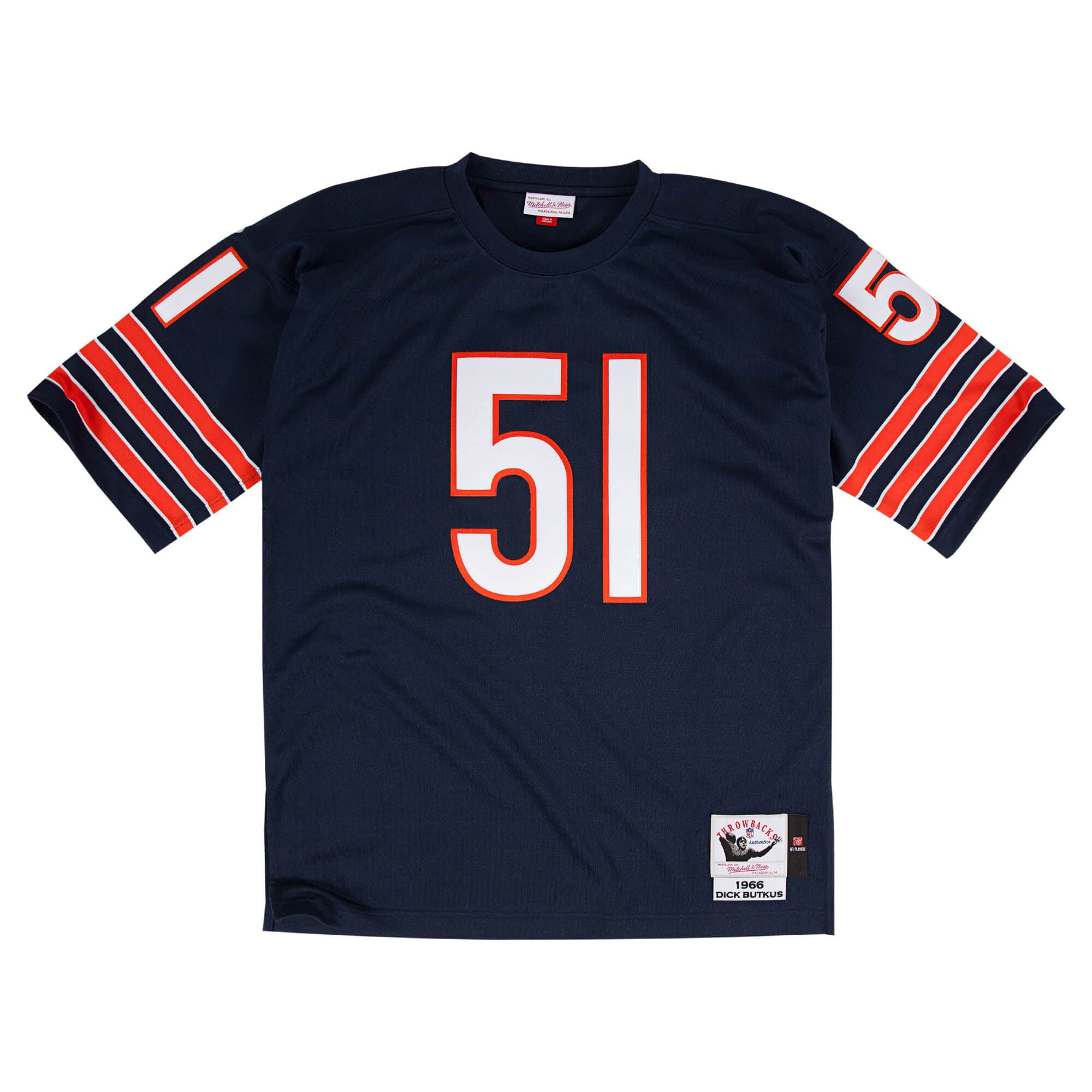 Dick Butkus 1966 Authentic Jersey Chicago Bears