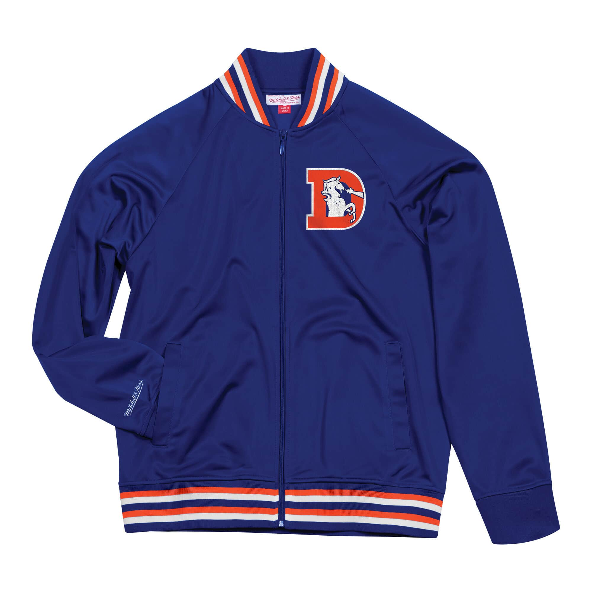 Top Prospect Track Jacket Denver Broncos