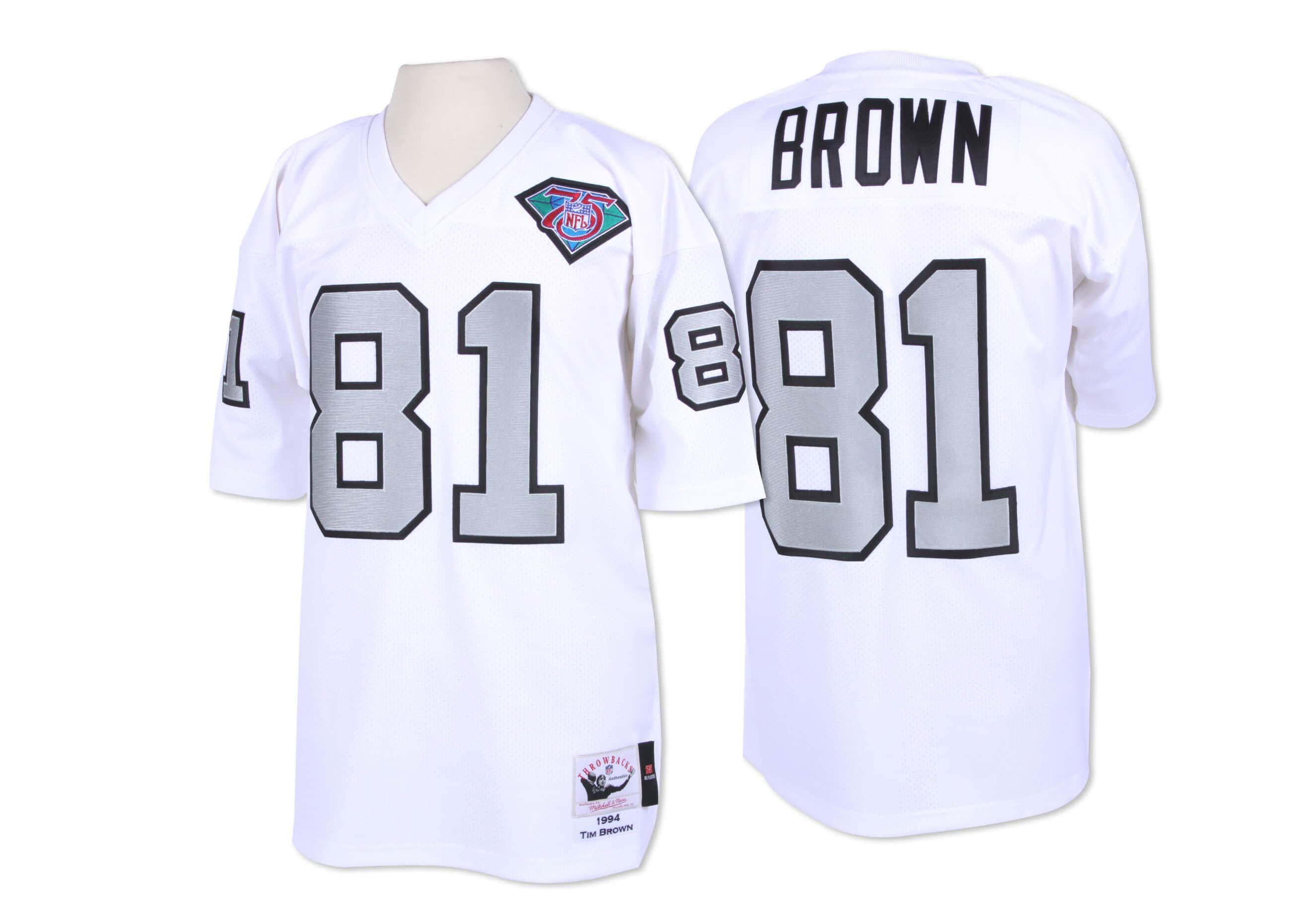 Tim Brown 1994 Authentic Jersey Los Angeles Raiders