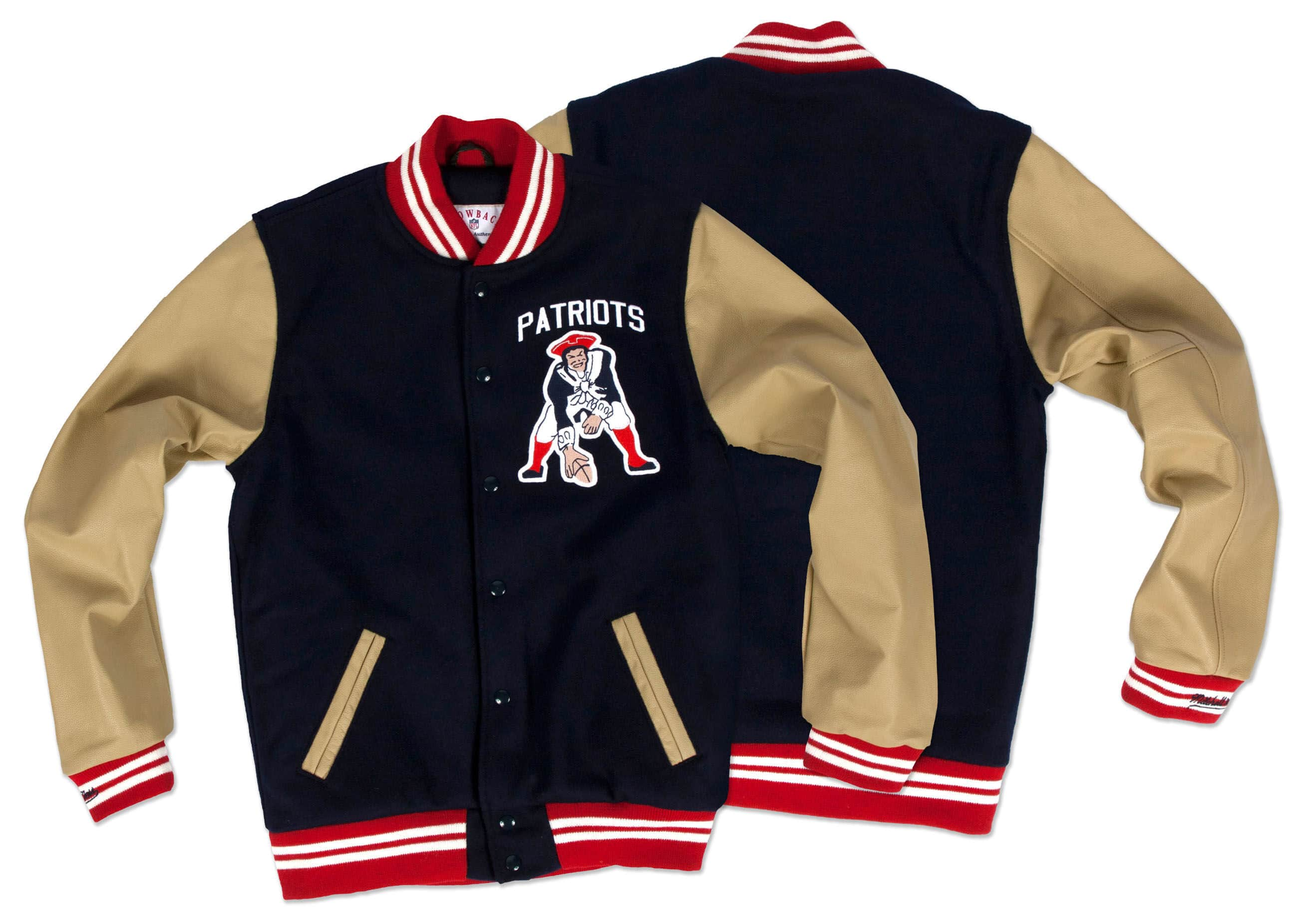 1960 Authentic Wool Jacket Boston Patriots