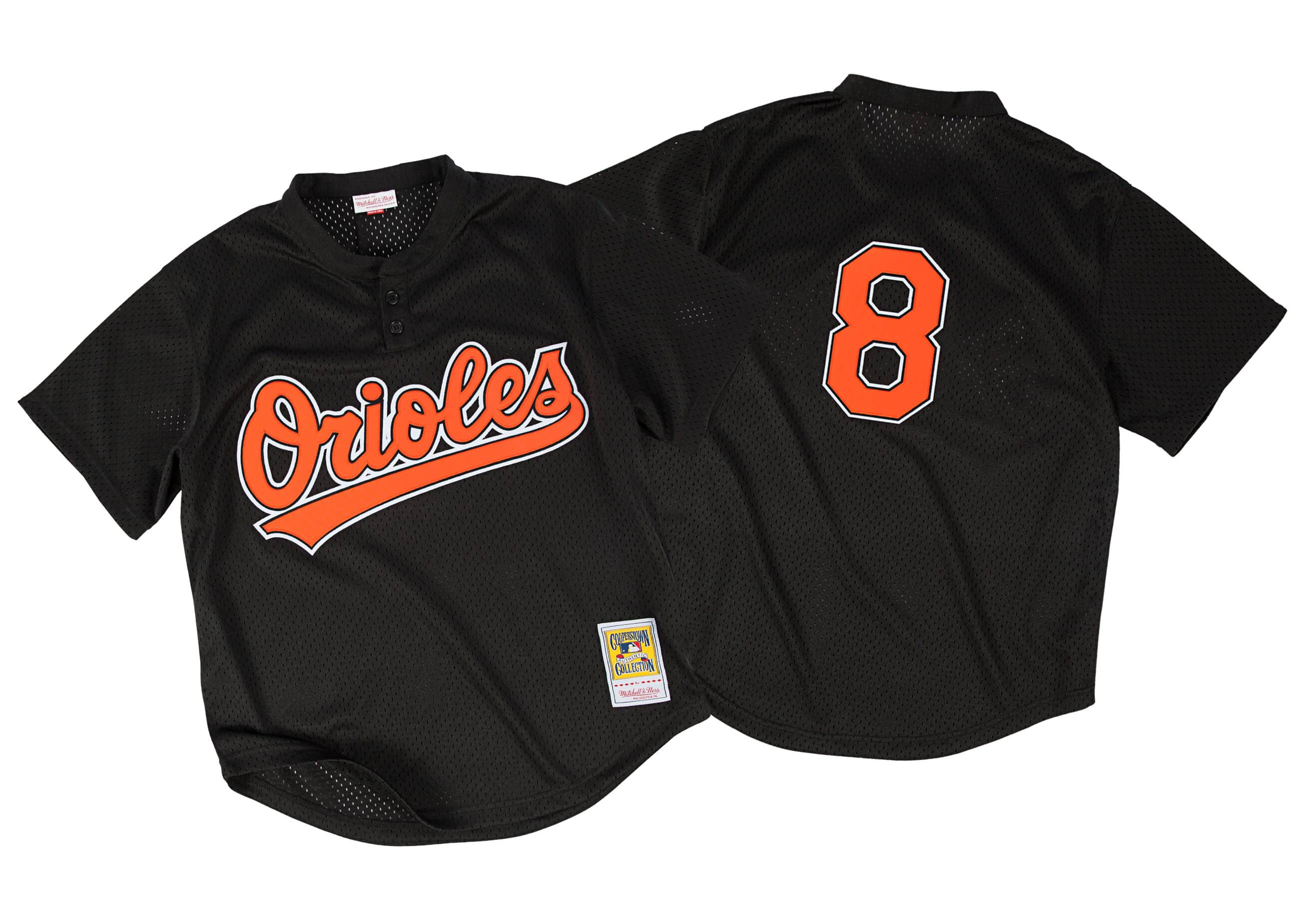 Cal Ripken Jr. 1997 Authentic Mesh BP Jersey Baltimore Orioles