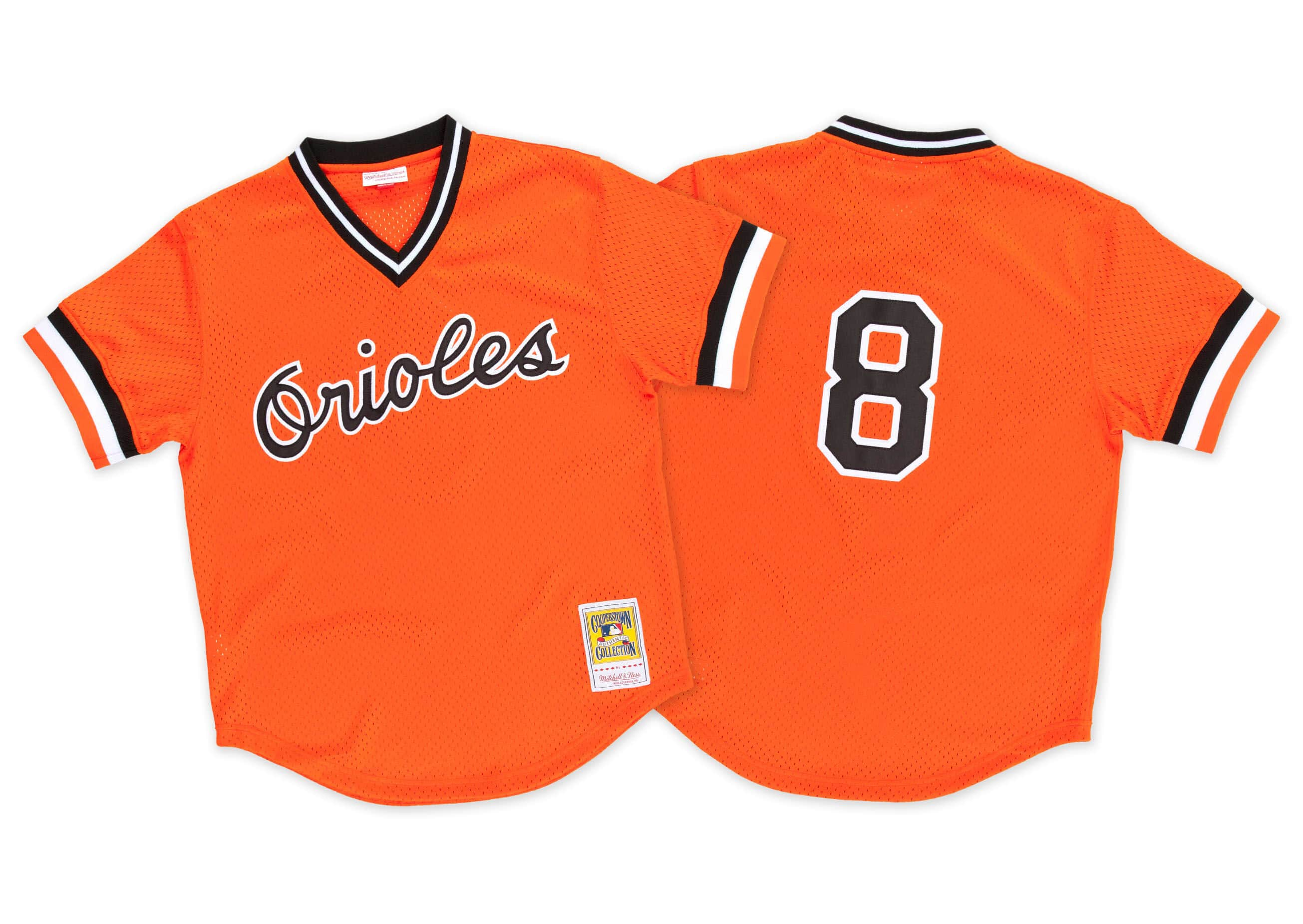 Cal Ripken 1988 Authentic Mesh BP Jersey Baltimore Orioles