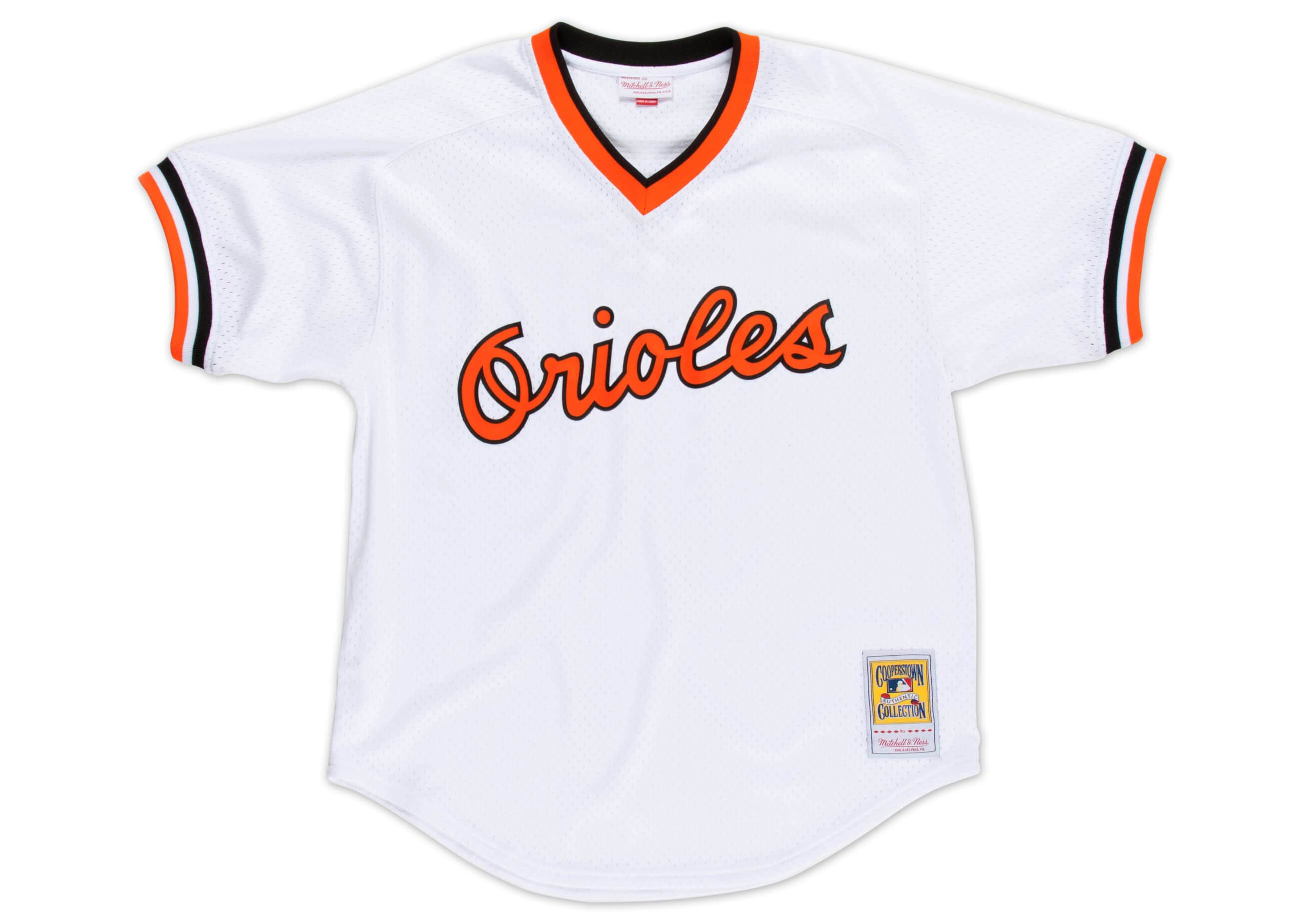 Cal Ripken Jr. 1985 Authentic Mesh BP Jersey Baltimore Orioles