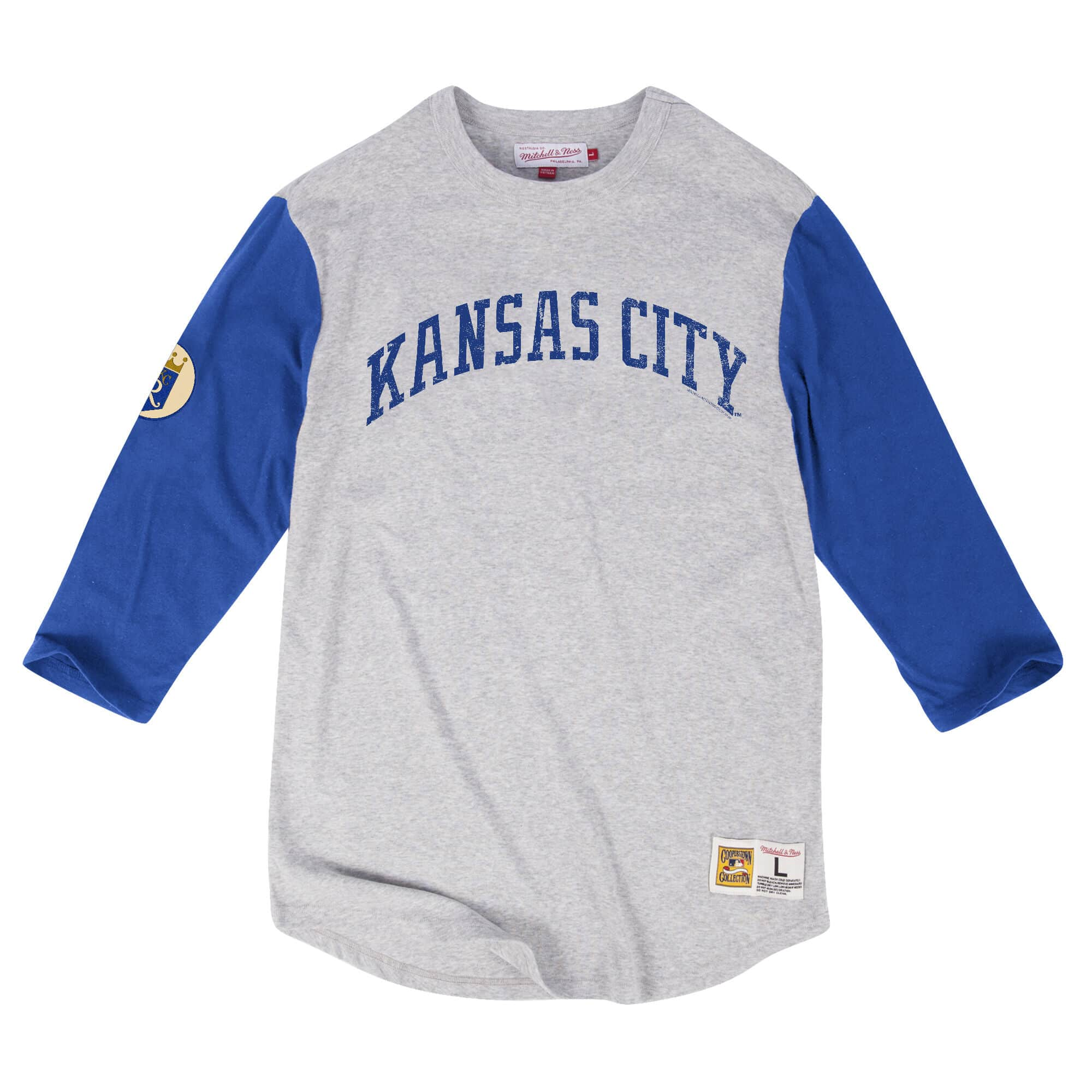 Scoring Position 3/4 Sleeve Kansas City Royals