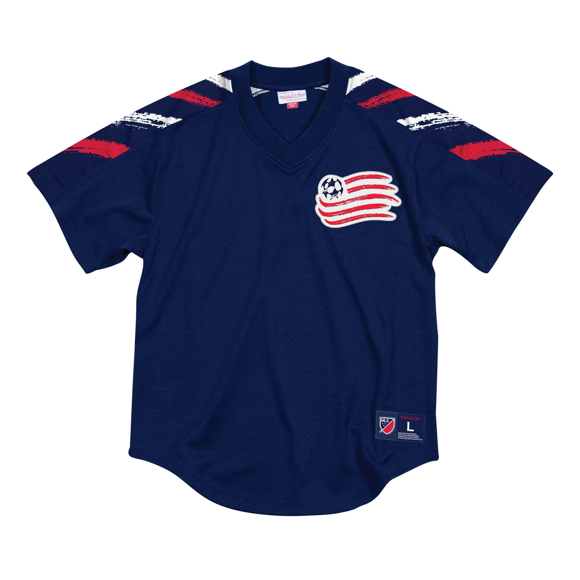 Winning Team Mesh V-Neck New England Revolution