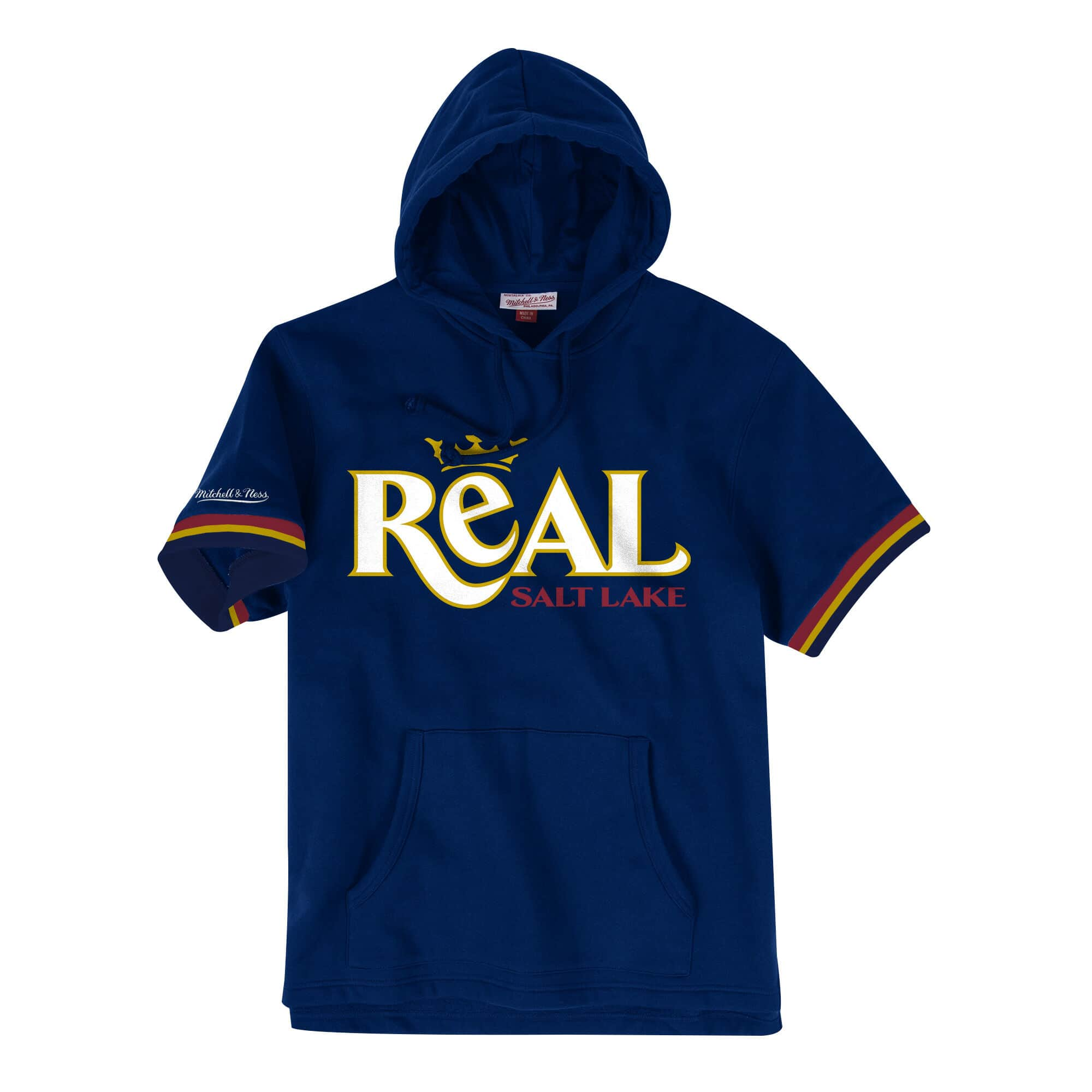 French Terry Short Sleeve Hoody Real Salt Lake