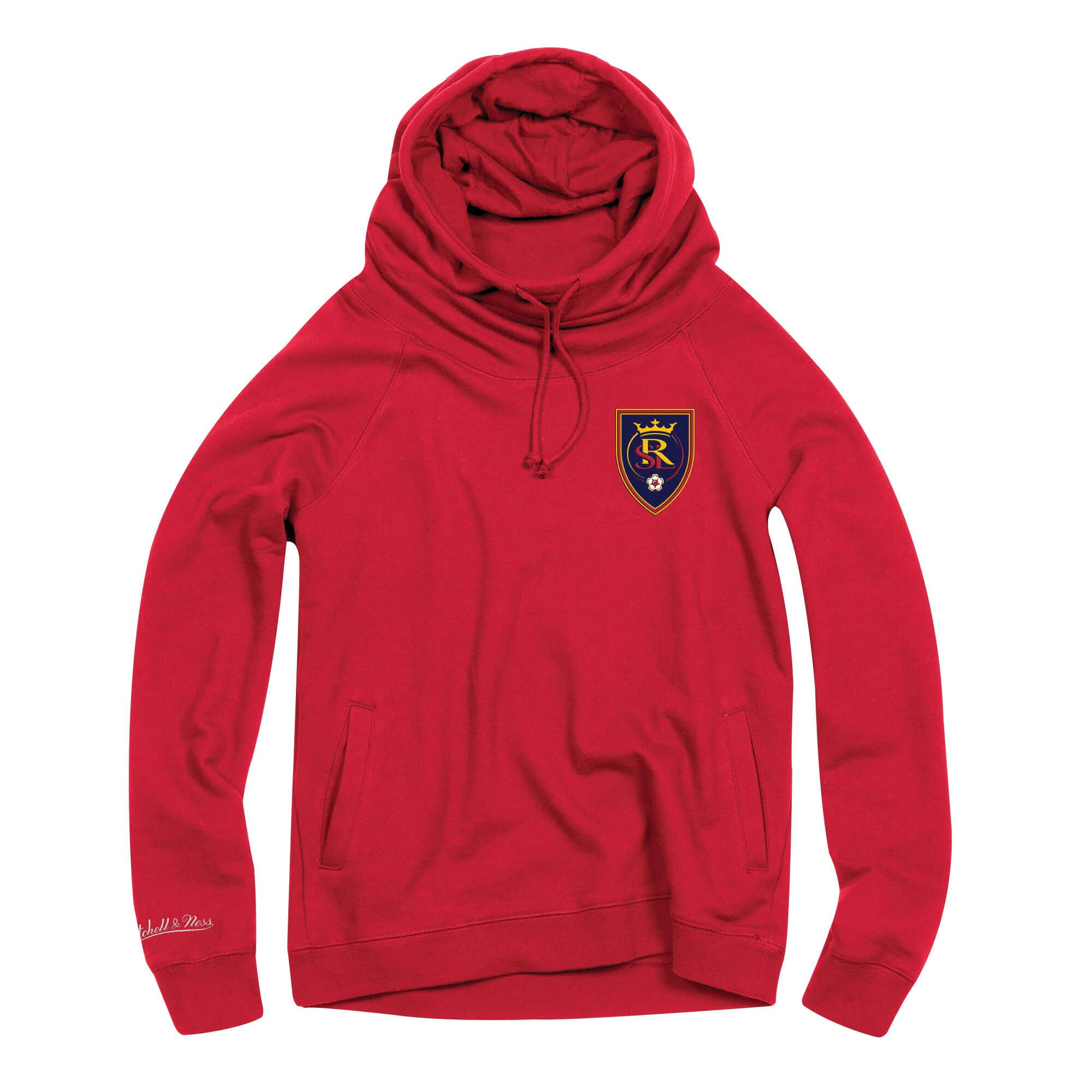 Women's Funnel Neck Pullover Real Salt Lake