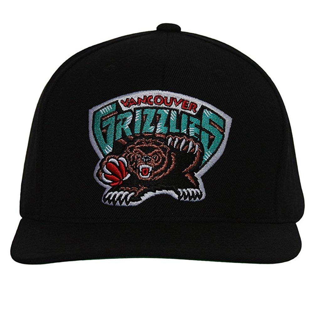 Vancouver Grizzlies Mitchell & Ness Logo Snapback Cap Hat AB