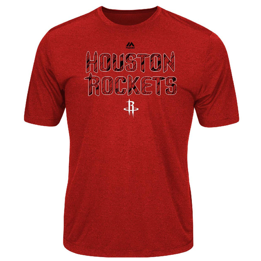 VF LSG Houston Rockets Red Future Highlight Play Performance T Shirt (X-Large)