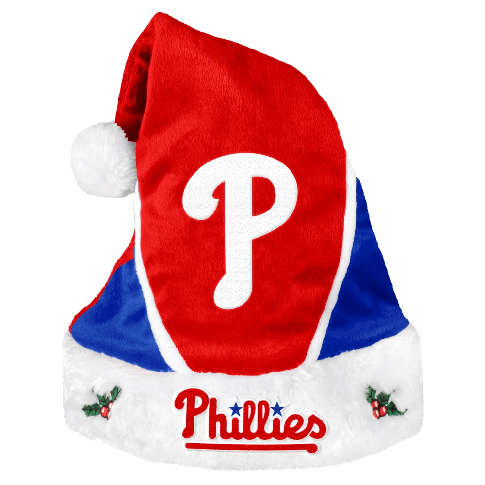 Philadelphia Phillies 2014 MLB Color Block Santa Hat