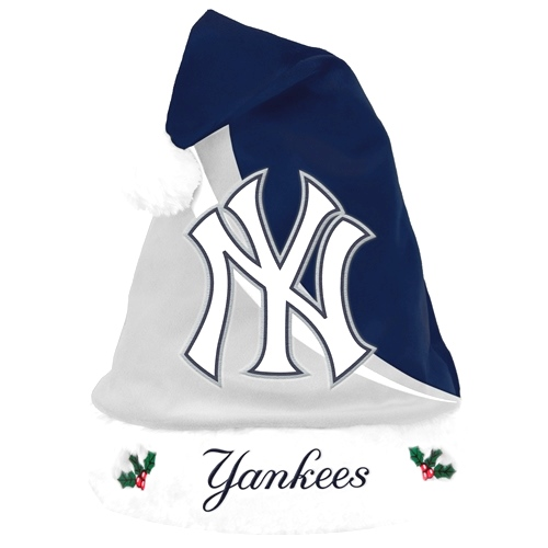 New York Yankees 2013 MLB Swoop Plush Santa Hat