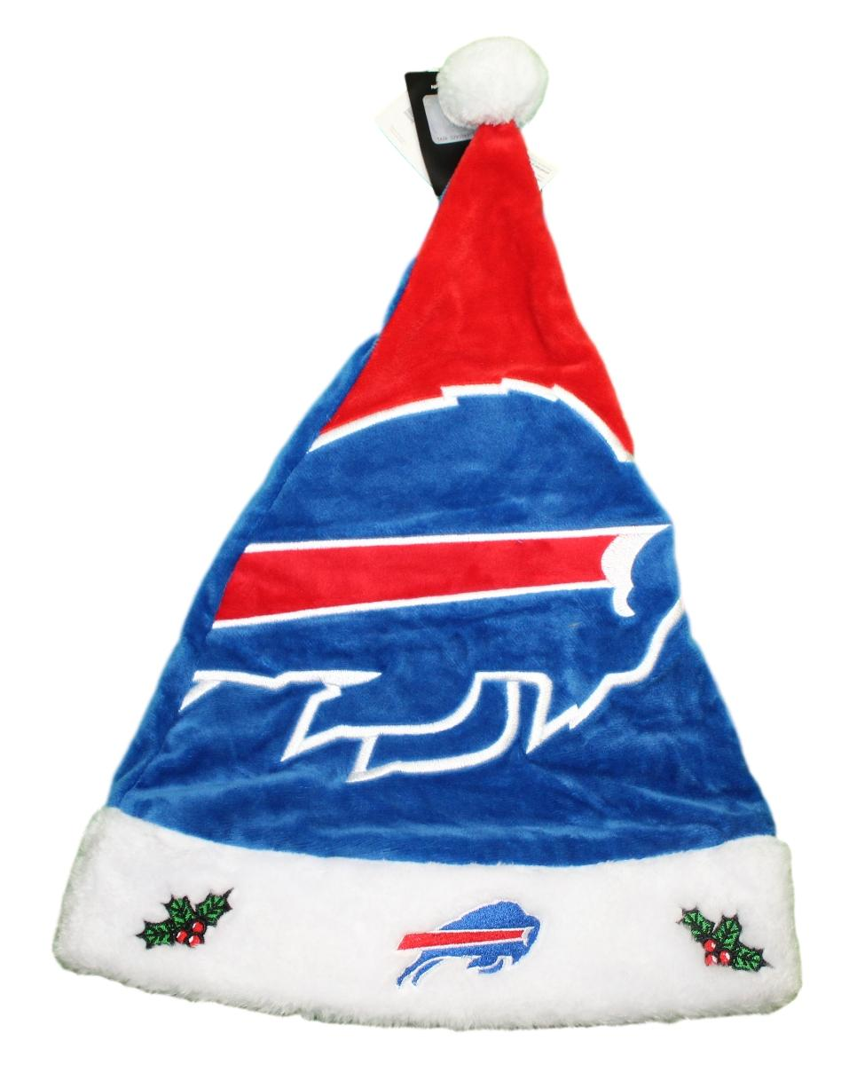 Buffalo Bills 2018 NFL Basic Logo Plush Christmas Santa Hat