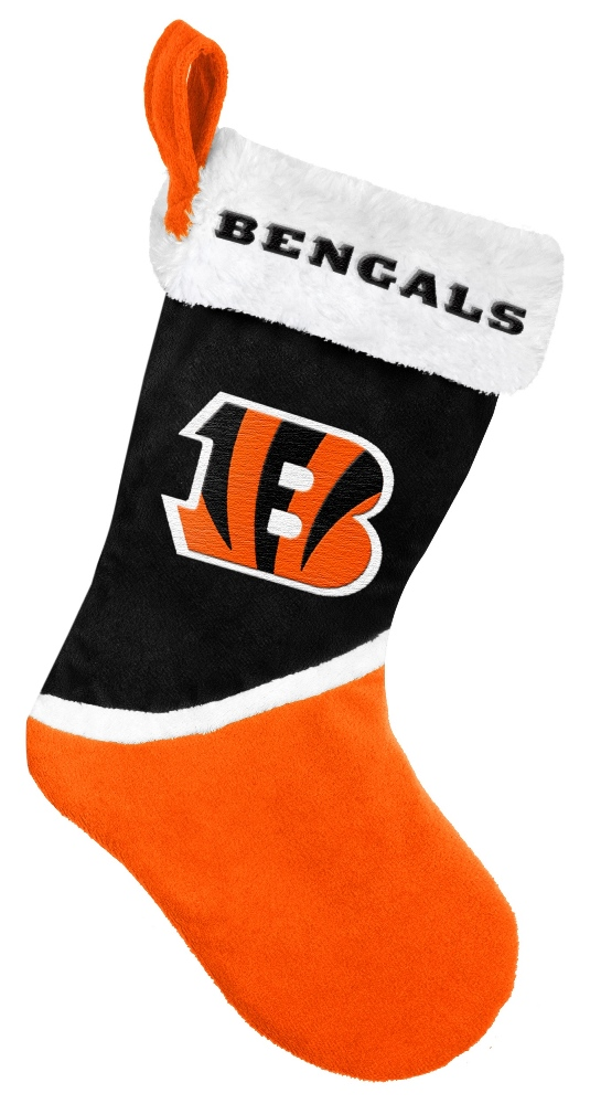 Cincinnati Bengals 2015 NFL Basic Logo Christmas Stocking