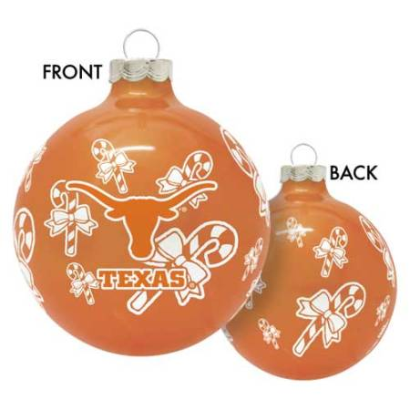 Texas Longhorns NCAA Traditional Round Ornament