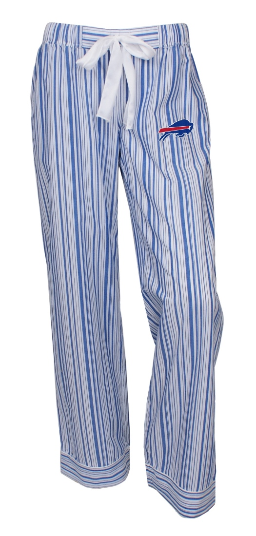 "Buffalo Bills NFL Women's ""Principle"" Dual Blend Striped Sleep Pants"