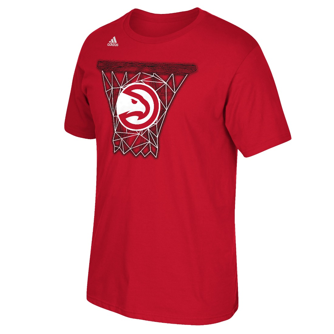 "Atlanta Hawks Adidas NBA ""Net Web"" Men's Short Sleeve T-Shirt"