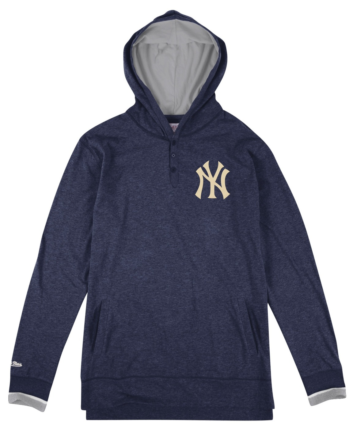 New York Yankees Mitchell & Ness MLB Seal The Win Long Sleeve Hooded Men's Shirt