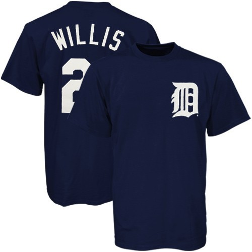 Dontrelle Willis Tigers Youth MLB Player T-Shirt