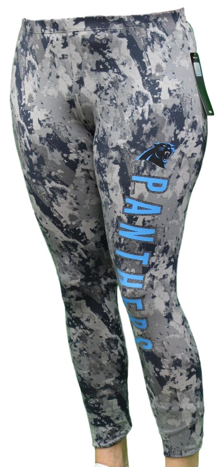 "Carolina Panthers Women's NFL ""Vortex"" Leggings Yoga Pants"