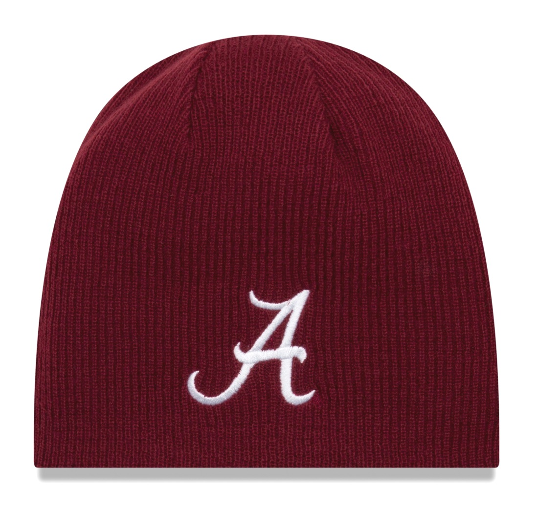 "Alabama Crimson Tide New Era NCAA ""Basic Team Beanie 2"" Reversible Knit Hat"