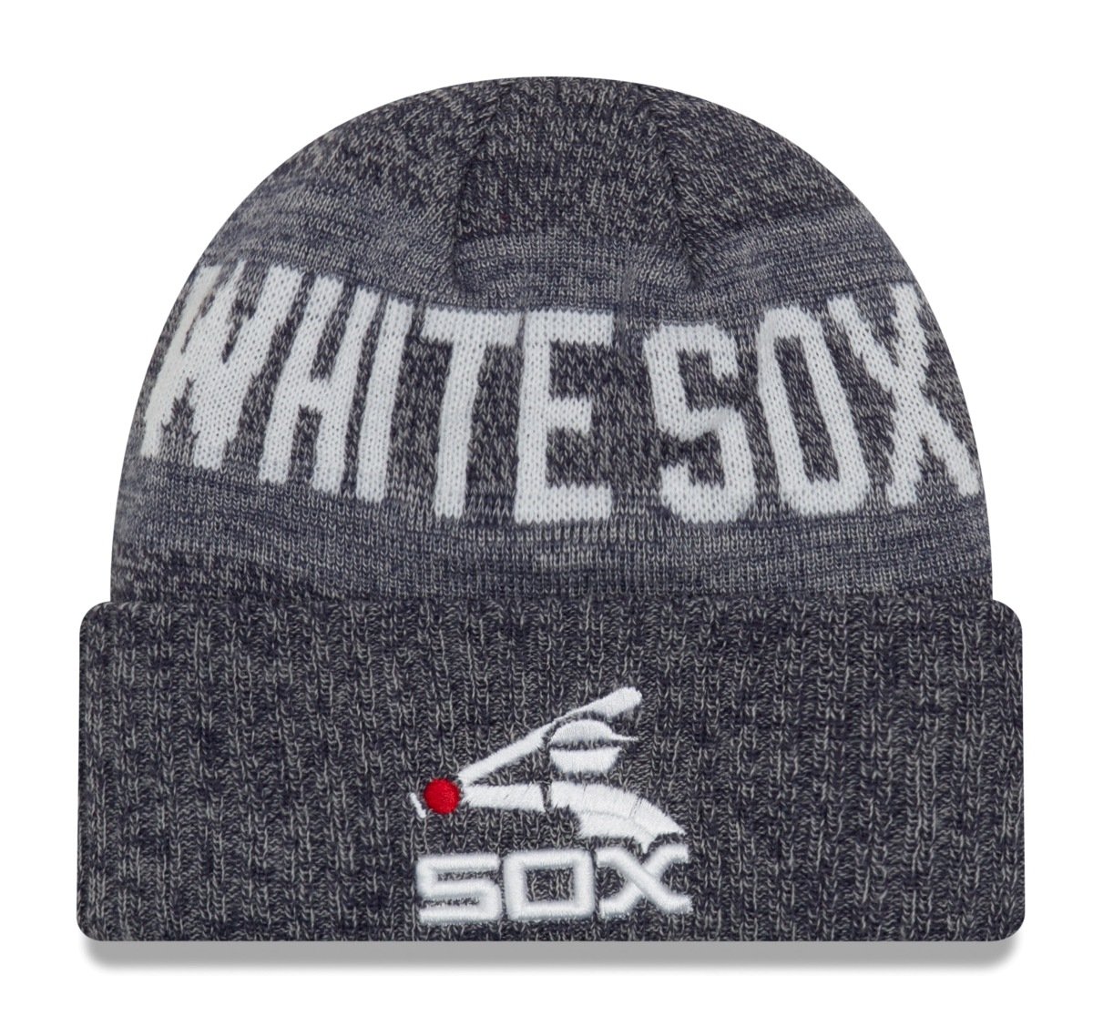 "Chicago White Sox New Era MLB Cooperstown ""Crisp Colored"" Cuffed Knit Hat"
