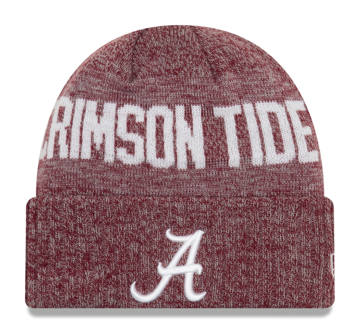 "Alabama Crimson Tide New Era NCAA ""Crisp Colored"" Cuffed Knit Hat"