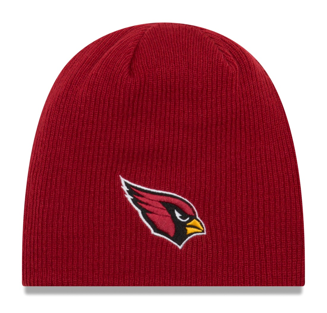 "Arizona Cardinals New Era NFL ""Basic Team Beanie 2"" Reversible Knit Hat"