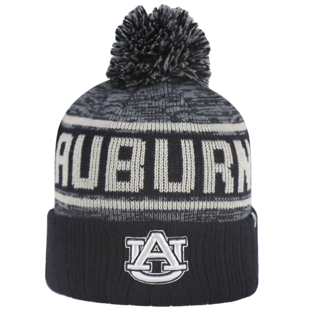 "Auburn Tigers NCAA Top of the World ""Acid Rain 2"" Cuffed Knit Hat"