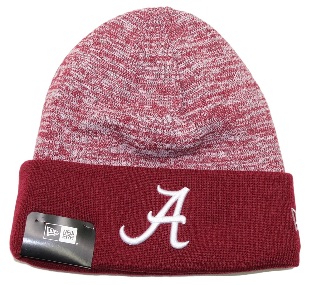 "Alabama Crimson Tide New Era NCAA ""Team Rapid"" Cuffed Knit Hat"