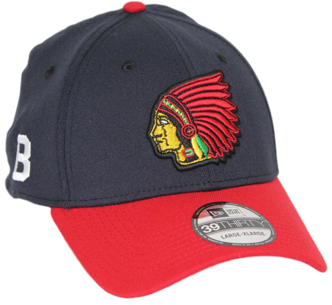 "Boston Braves New Era MLB 39THIRTY Cooperstown ""Classic"" Flex Fit Hat - Navy"