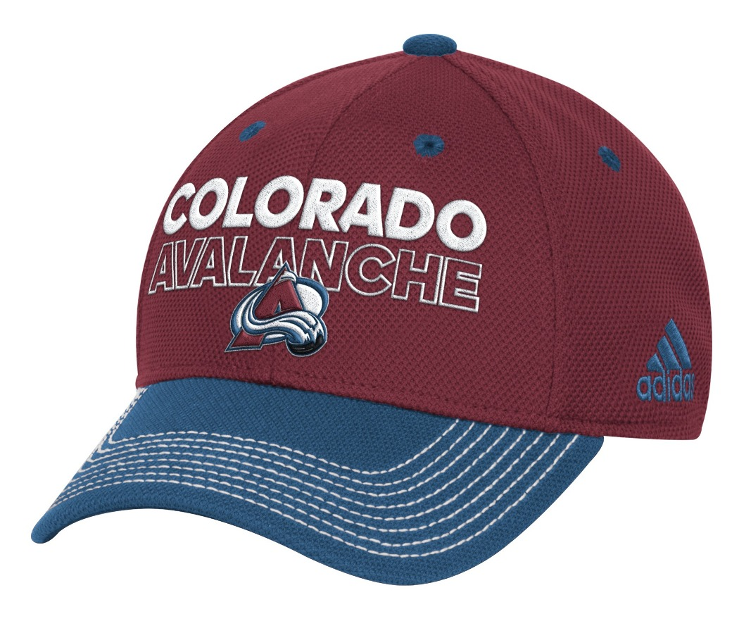 Colorado Avalanche Adidas NHL Authentic Locker Room Structured Flex Hat