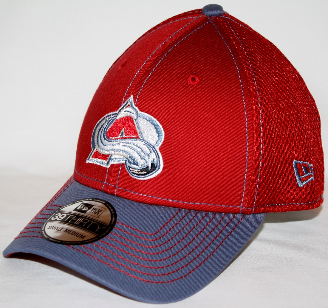 Colorado Avalanche New Era NHL 39THIRTY Neo Fitted Hat - 2 Tone