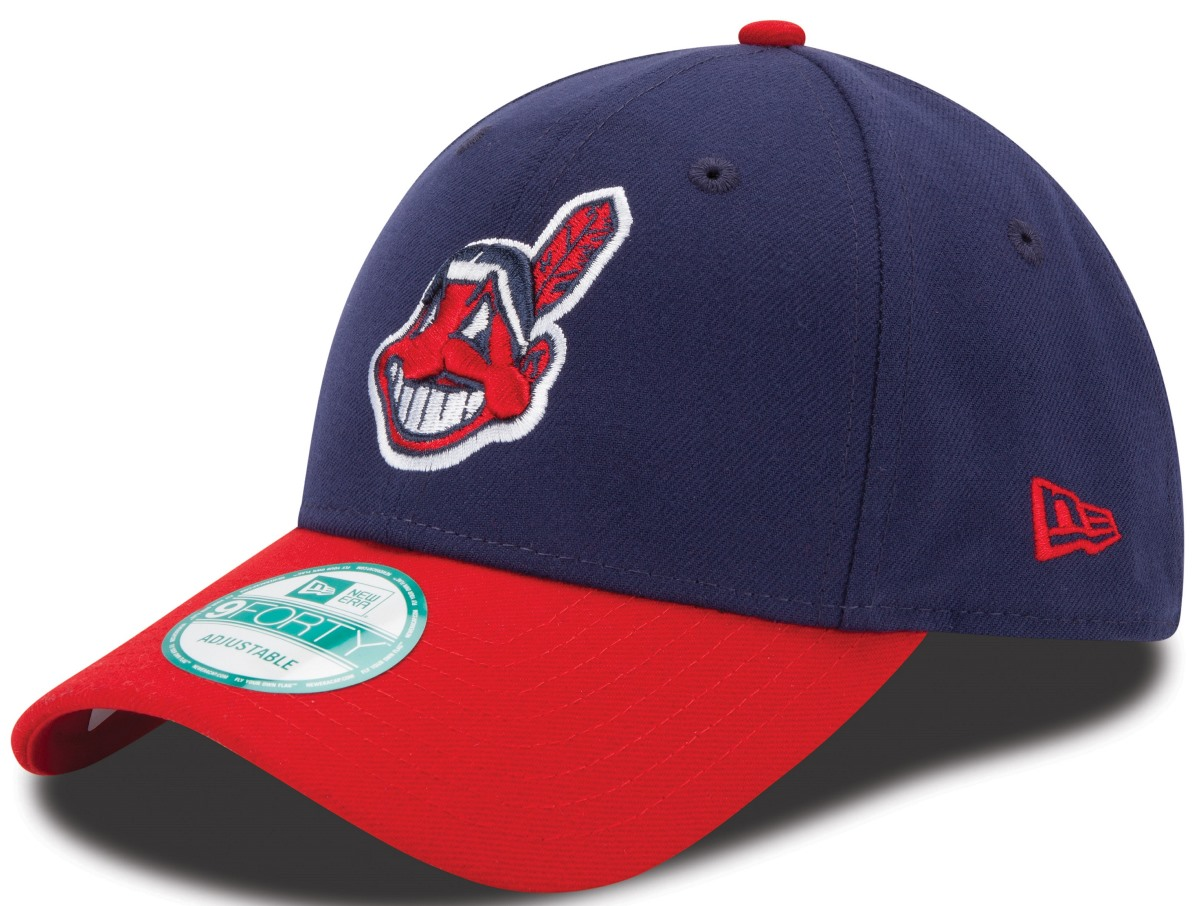 "Cleveland Indians New Era MLB 9Forty ""The League"" Adjustable Hat - 2 Tone"
