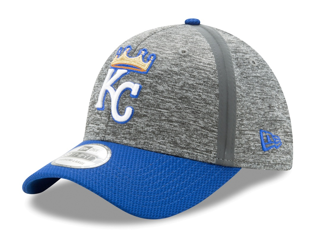 "Kansas City Royals New Era MLB 39THIRTY ""Clubhouse Edition"" Flex Fit Hat"
