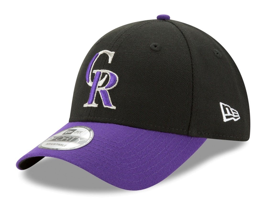 "Colorado Rockies New Era MLB 9Forty ""The League"" Adjustable Hat - Alternate"