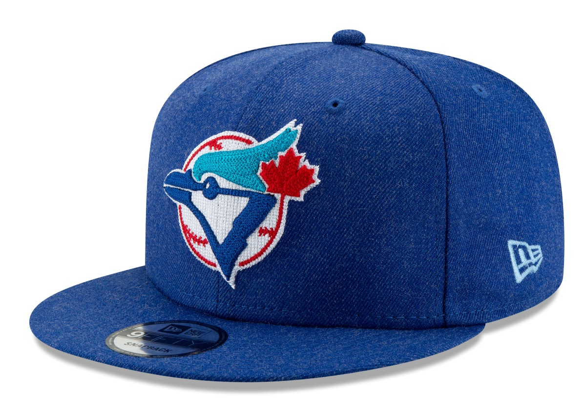 "Toronto Blue Jays New Era 9FIFTY MLB Cooperstown ""Heather Crisp 3"" Snapback Hat"