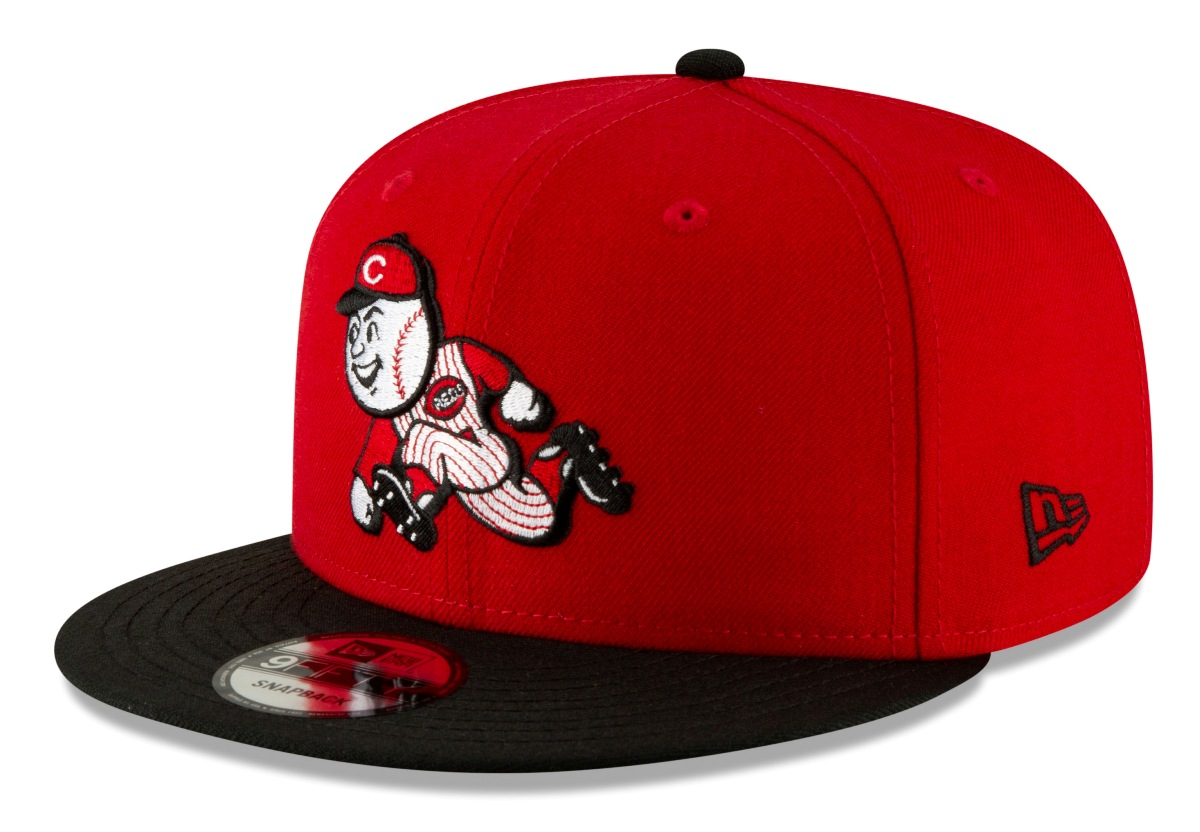 "Cincinnati Reds New Era 9FIFTY MLB Cooperstown ""Logo Pack"" Snapback Hat"