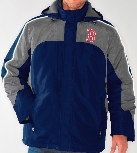 "Boston Red Sox MLB ""Defense"" Systems 3-in-1 Heavyweight Performance Jacket"